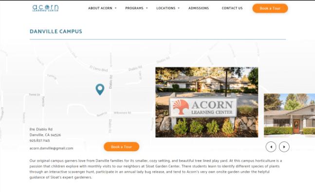 Acorn locations desktop