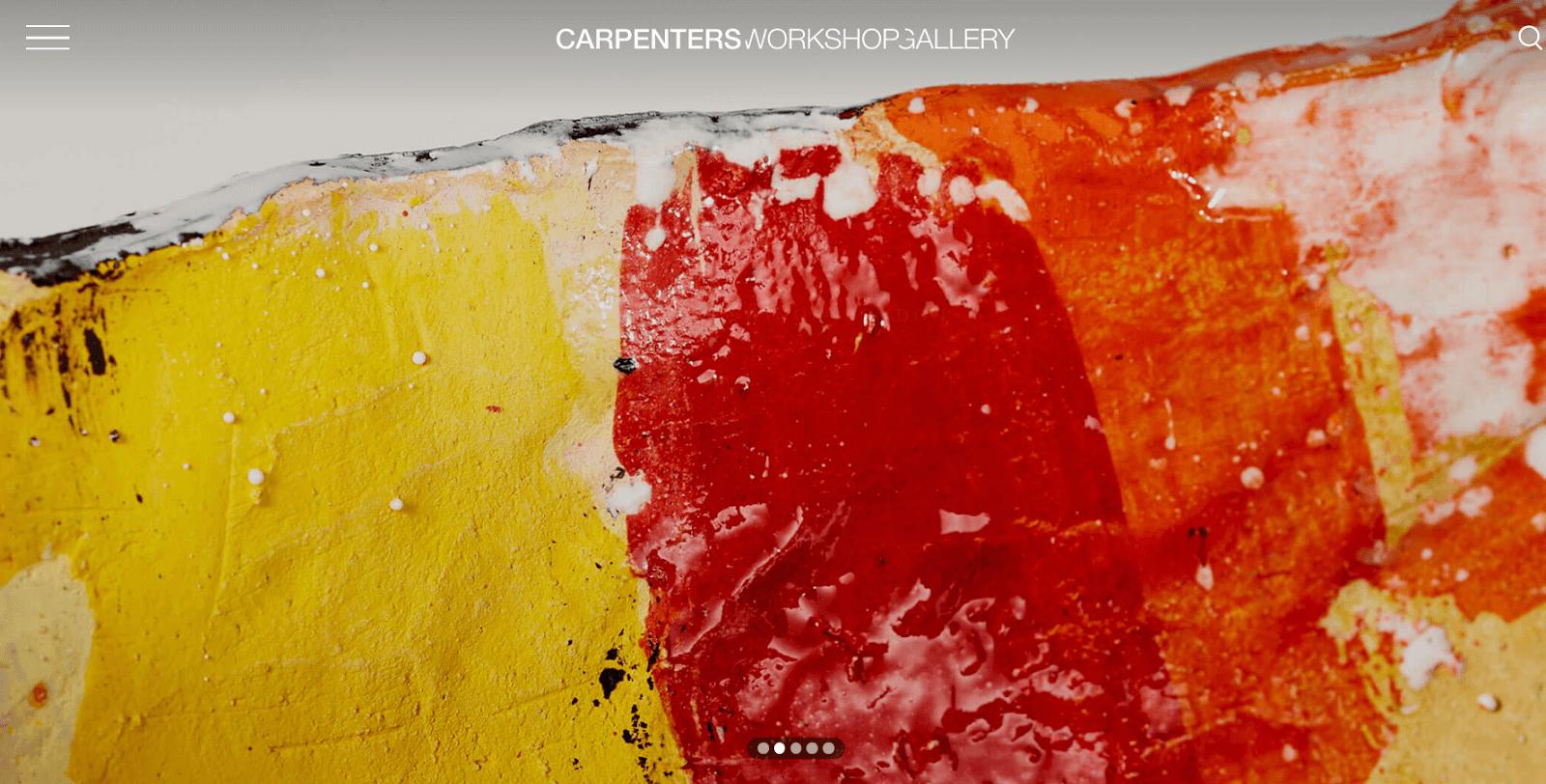 carpentersworkshopgallery Site