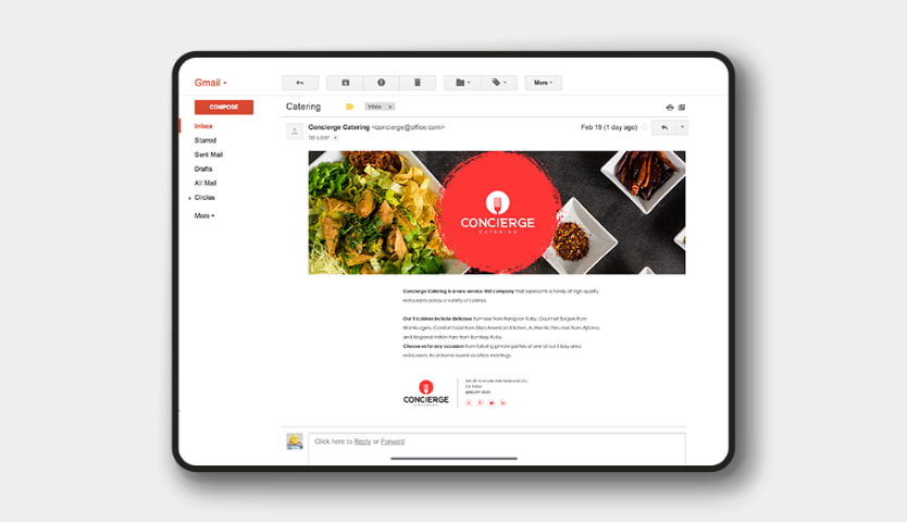 A branding kit of every online store would be incomplete without branded email templates