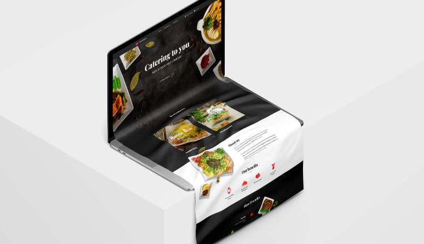 Concept of website design
