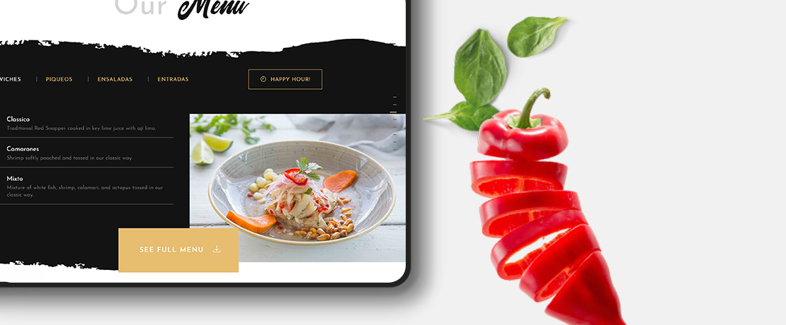 Restaurant Website Design: 10 Proven Tips for Designing the Perfect Site