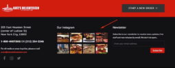 linking site to Instagram - Case-in-point