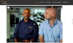 Restaurant site that has integrated videos - Case in point